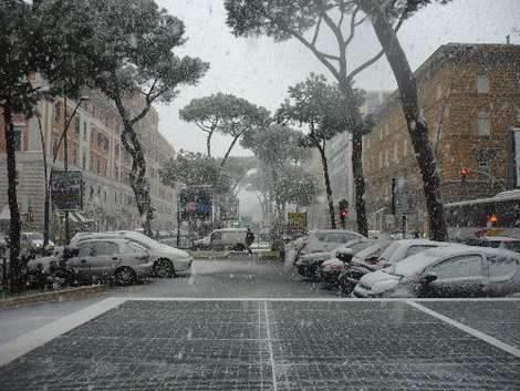 Tempo in peggioramento nelle province di Roma e Frosinone: neve nella notte tra il 27 e 28 gennaio