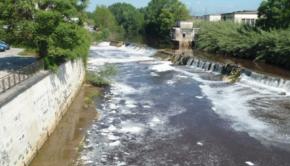 Inquinamento fiume Sacco, deferite 10 persone: omessa depurazione di acque e scarico illegale