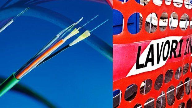 Fibra ottica a Colleferro: aumentano le zone in cui proseguono i lavori per l'installazione