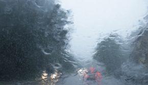 Forti piogge sulla A1 Roma-Napoli tra Anagni e Frosinone