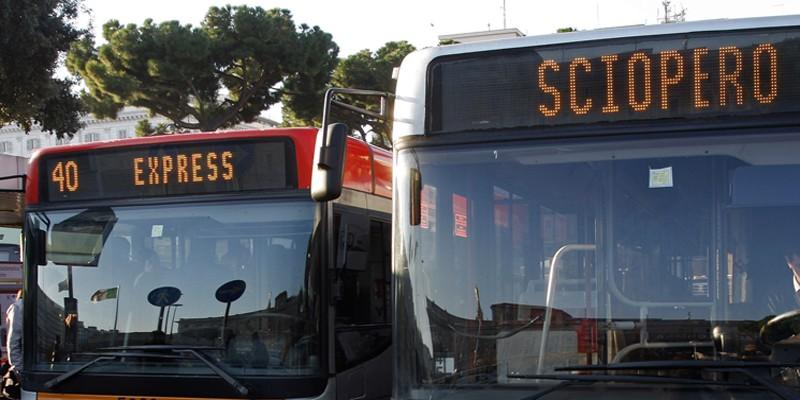 Lunedì 24 febbraio 2020 sciopero trasporti roma tpl usb