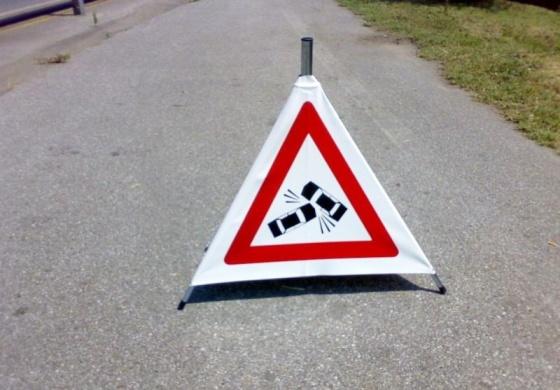 Circonvallazione Ostiense, via Giovanni Battista Magnaghi: difficoltà di circolazione a causa di un incidente