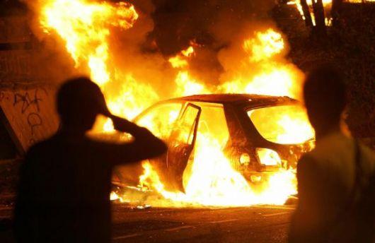 A1 Roma-Napoli, auto in fiamme tra Frosinone e Ferentino 12 marzo 2019