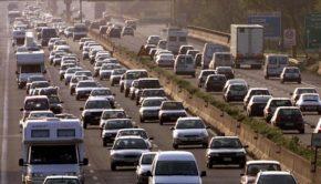 GRA congestionato, stessa situazione per il tratto urbano della A24 e A91