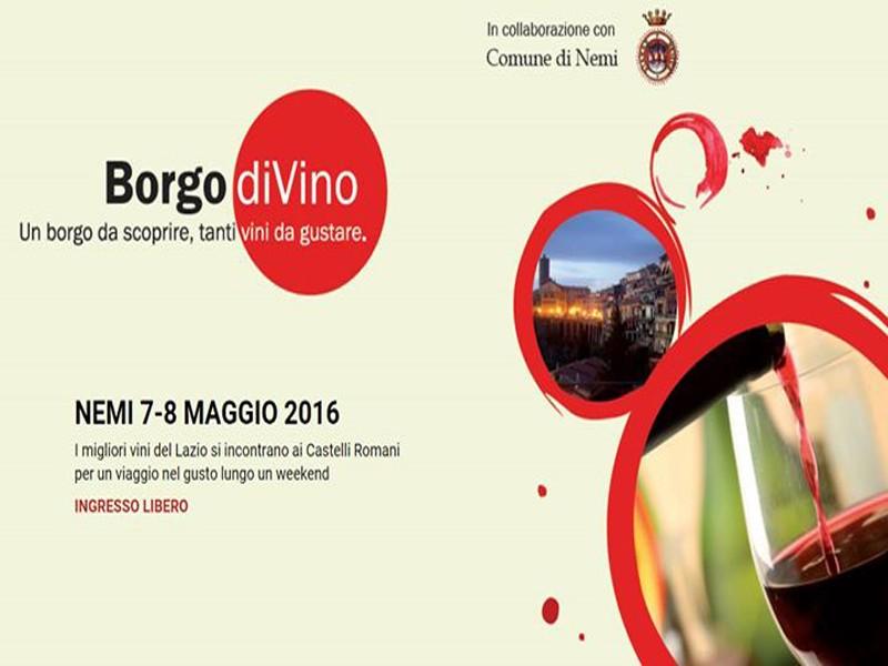 Borgo divino 2016 nemi