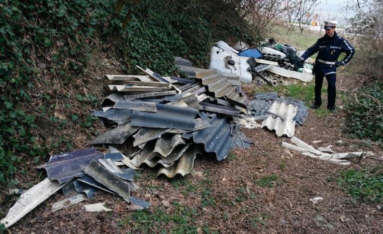 Atina, scoperto un deposito abusivo di rifiuti urbani