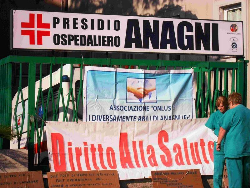 """Anagni, Quadrini e il Sindaco uniti: """"Bisogna riaprire il polo ospedaliero"""""""