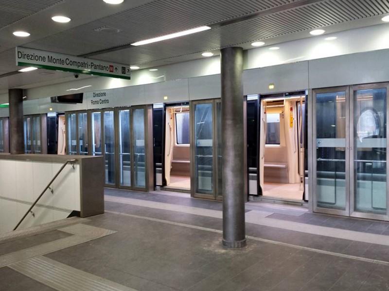 Atac Metro B ascensori stazione Libia
