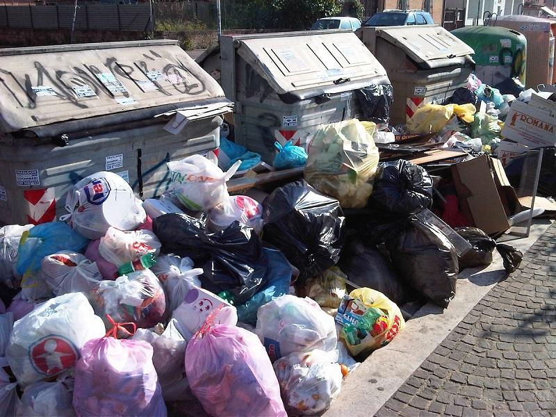 regione lazio rifiuti roma