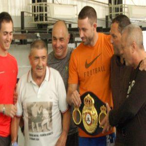 Boxe: la cintura iridata di De Carolis arriva a Montagnola