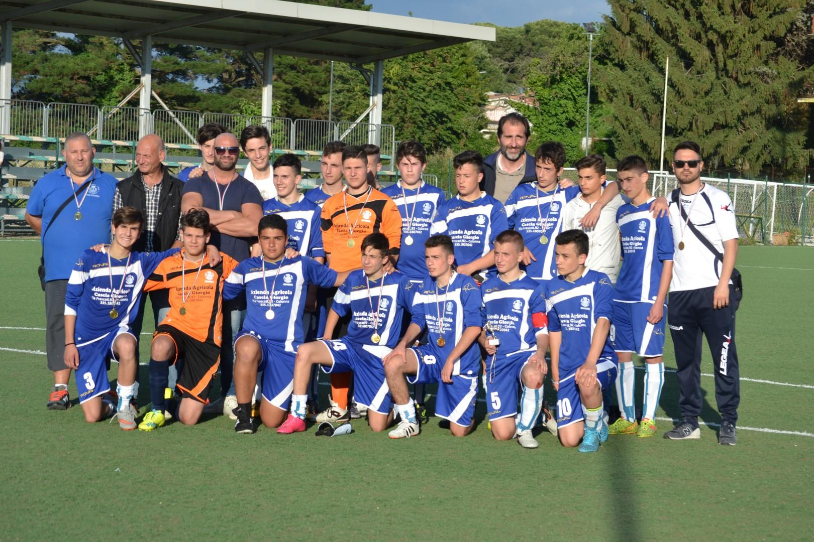 Ssd Colonna, si è chiusa la seconda edizione del torneo giovanile Colonna Cup