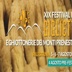 Palestrina, XIX Festival del Giglietto e delle Ghiottonerie dei Monti Prenestini 2016