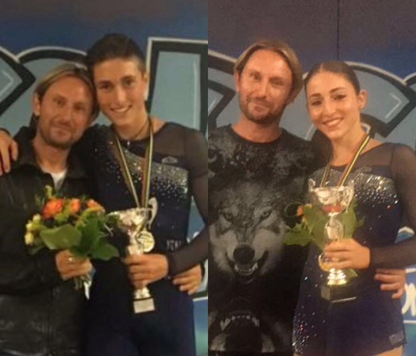 Fratelli Neri vincono titolo europeo (Skating Frascati)