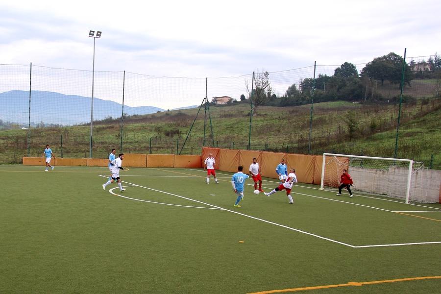 Sabelli goal Colleferro over 35