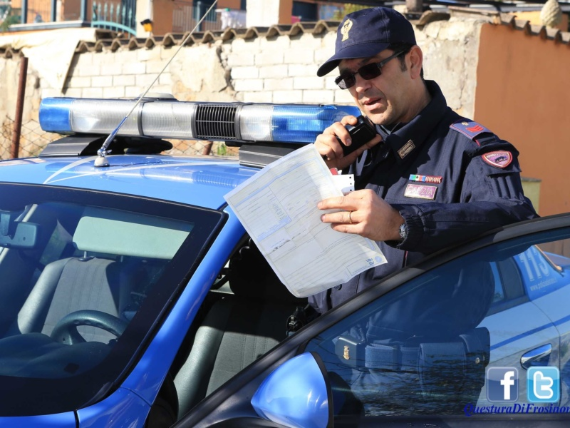 Bonnie e Clyde all'italiana a Frosinone: coppia arrestata in via Mascagni