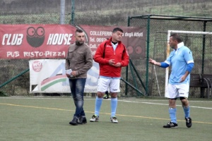 Marcoccia Fiaschetti guida tecnica SS Lazio Calcio a 7