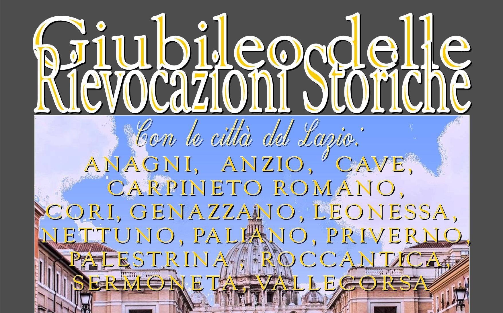 Giubileo delle rievocazioni storiche, 14 paesi del Lazio hanno aderito all'iniziativa