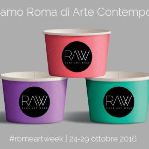 RAW, Rome Art Week