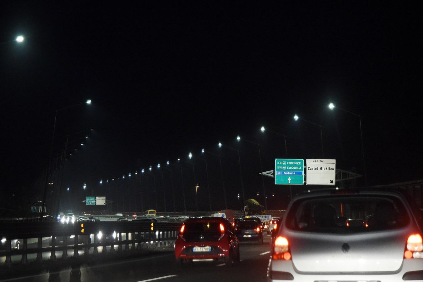 A12 Roma-Civitavecchia: chiusa per una notte l'entrata dello svincolo di Civitavecchia Nord