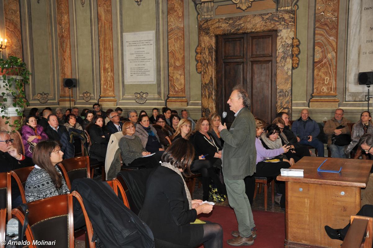 Albano, a lezione di Servizio Pubblico con Gherardo Colombo