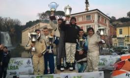 Rally della Ciociaria, vittoria ad uno strepitoso De Santis. Sul podio anche Giannetti e Cannavò