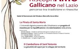 Riscopriamo Gallicano nel Lazio: percorso tra tradizione e rinascita il 21 gennaio