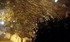 Cade la prima neve in provincia di Roma e Frosinone!