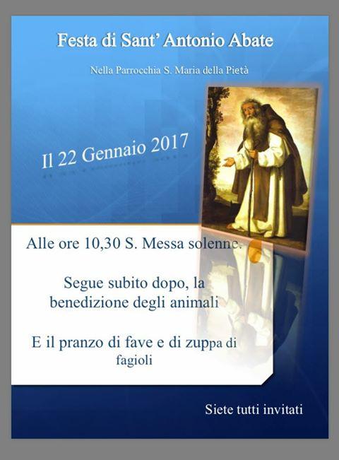 Cori, Sant'Antonio Abate 2017: il programma dei festeggiamenti