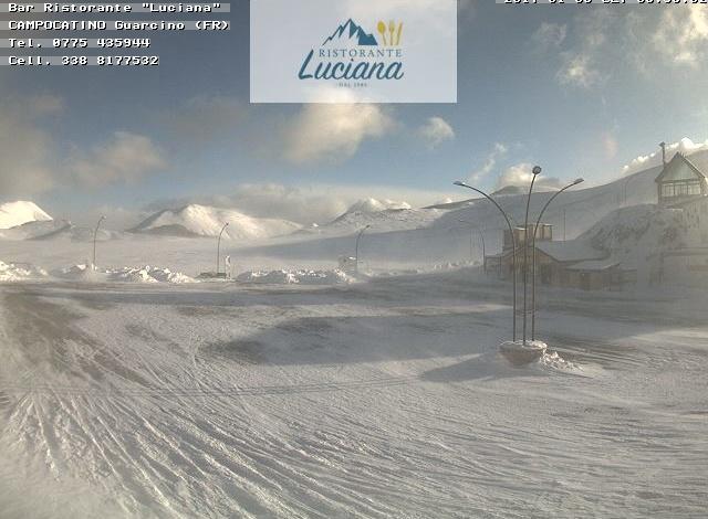 Epifania artica in montagna: a Campocatino percepiti -27°C! Le previsioni per il 7 gennaio