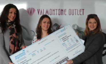 Valmontone, premiata la vincitrice de Il Natale ti porta in Argentina indetto dall'Outlet