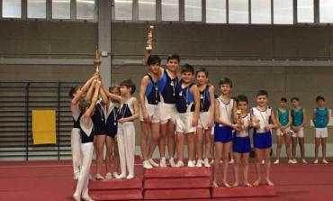 GAM a squadre FGI: al Palasport di Cori trionfa l'ASD Gymnastica Julia di Giulianello