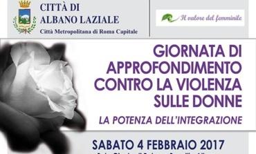 Albano Laziale, sabato 4 febbraio giornata di approfondimento contro la violenza sulle donne