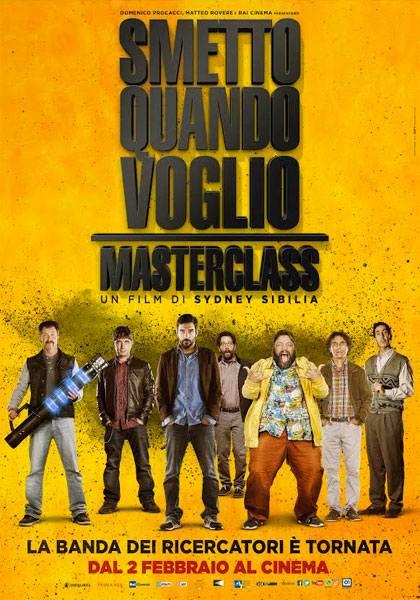 """Veroli, al cinema Cine Sala Trulli arriva il film """"Smetto quando voglio Masterclass"""""""""""