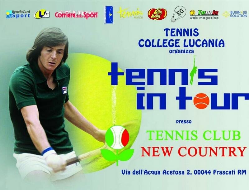 Tc New Country Club frascati panatta