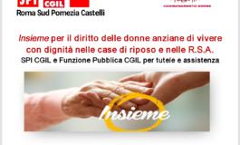 CGIL Pomezia, il 29 marzo convegno a Nemi per i diritti delle donne nelle case di riposo