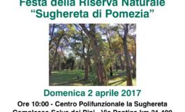 Riserva naturale della Sughereta di Pomezia: il 2 aprile giornata di festeggiamenti