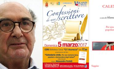 Confessioni di uno scrittore. Alessandro Portelli a Cori con Calendario Civile