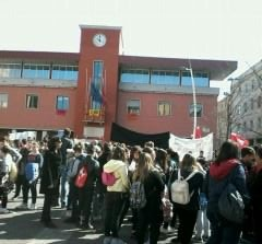 Anche a Colleferro si è svolta la manifestazione di Libera contro le mafie: molti giovani in piazza