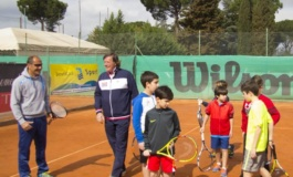Tc New Country Club Frascati, circa 300 partecipanti all'allenamento con Panatta