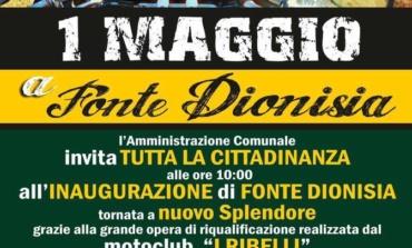 Valmontone, Primo Maggio: il parco Fonte Dionisia torna a risplendere