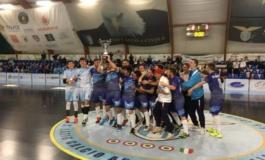 S.S Lazio calcio a 5, la Juniores è campione regionale: 8-3 all'Olimpus nella finale di ritorno