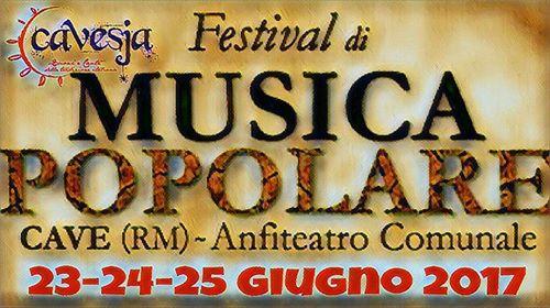 Cave, Festival di Musica Popolare 2017: il programma