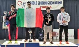 Frascati Scherma, tre argenti ai campionati italiani U23. Il 22 aprile il Memorial Simoncelli