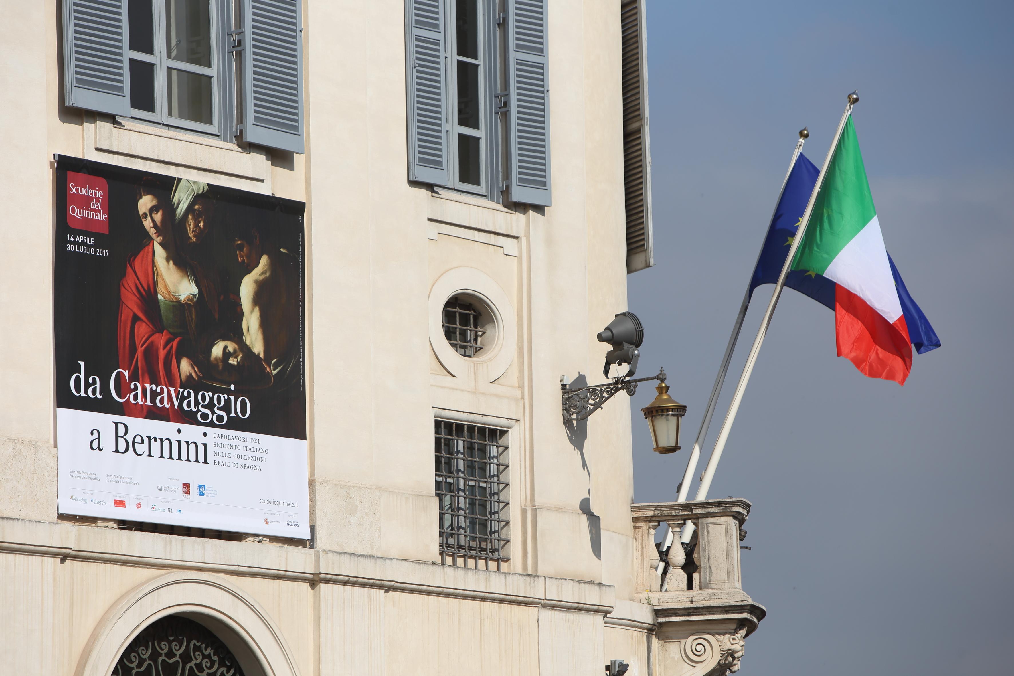 """""""da Caravaggio a Bernini, Capolavori del Seicento italiano nelle Collezioni Reali di Spagna"""" Roma, Scuderie del Quirinale"""