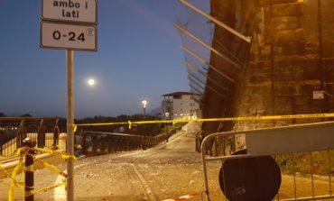 Valmontone, crollo in via Arnaldo Trifogli: era già stata presentata una denuncia sul rischio