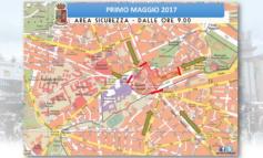 Roma, Primo Maggio 2017: presentate in Questura le misure di Sicurezza