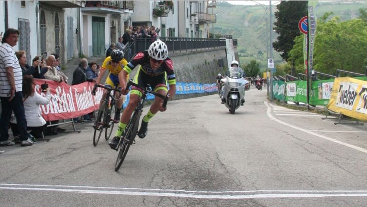 Ciclismo: A Castiglione M.R. (TE) è Germani della VeloSport Ferentino a dominare