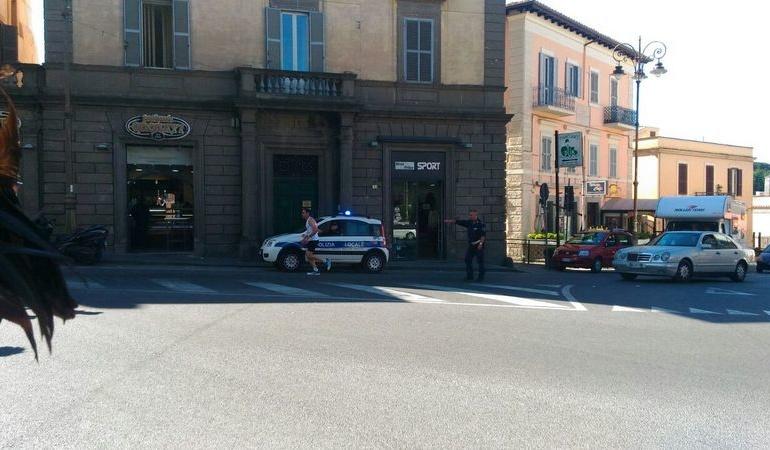 Marino, la Staffetta della Solidarietà venerdì è passata in piazza Matteotti