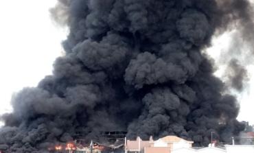Pomezia, incendio Eco X. Camera del Lavoro Cgil di Romasud, Pomezia e Castelli esprimono grande preoccupazione