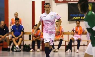 S.S. Lazio Calcio a 5, il saluto alla giocatrice spagnola Patri Jornet